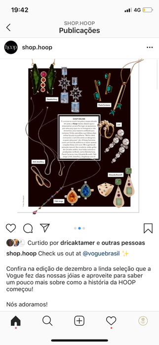 Shop.hoop, Instagram - Daniela Kury