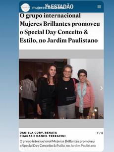 Jornal Estadao - Evento Conceito e Estilo