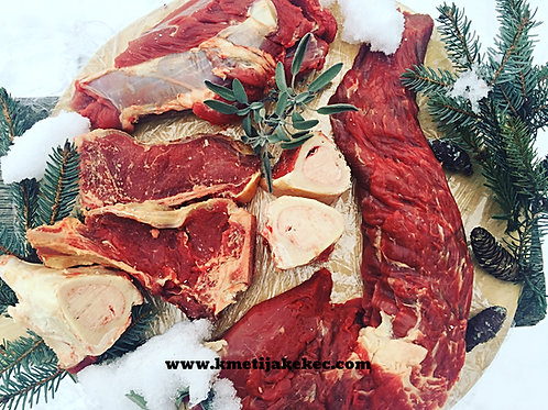 Domača govedina, 10 kg paket