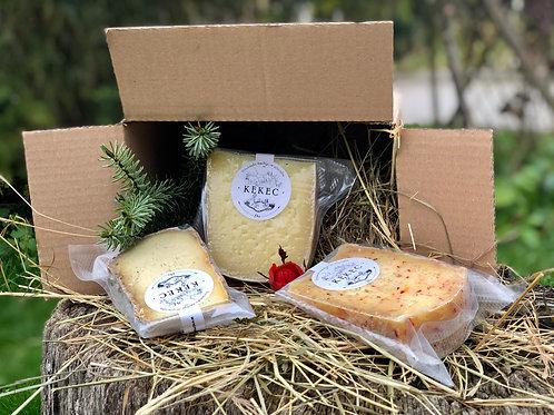 Mio Bio Trio, paket ekskluzivnih bio sirov