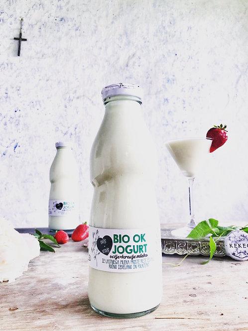 Bio OK jogurt, (mešano ovčje in kravje mleko), 1 l