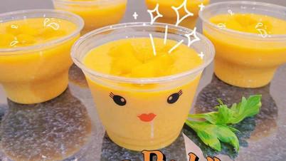 Mango Pudding  $4.5/Cup