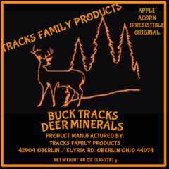Buck tracks flavored
