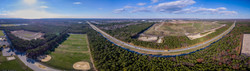 Sunrise Highway Aerial Panoramic