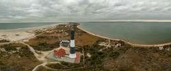 Fire Island Lighthouse Aerial Pano