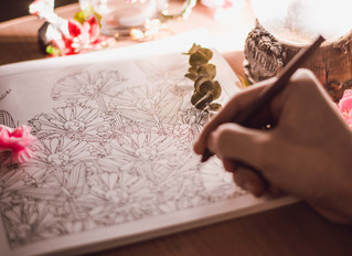 Colour your worries away with adult colouring books