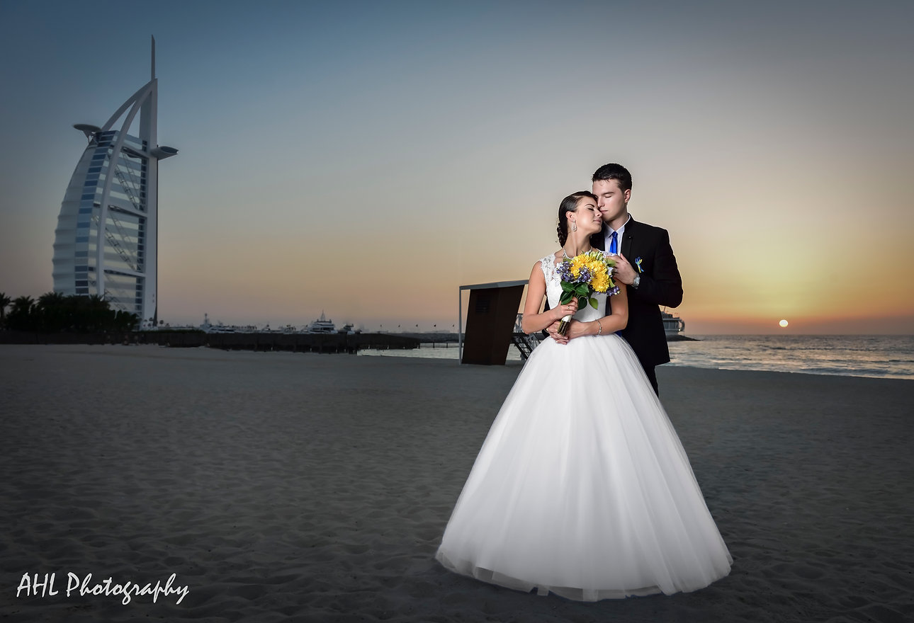 Wedding Photographer | Dubai Couples Photoshoot Dubai | AHLImages | Burj Al Arab Photoshoot