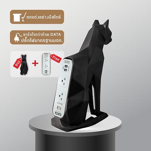 The CAT PLUG #Black