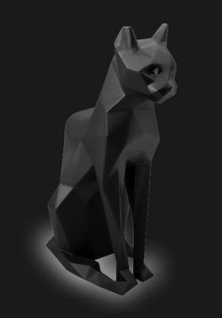 The CAT #Black