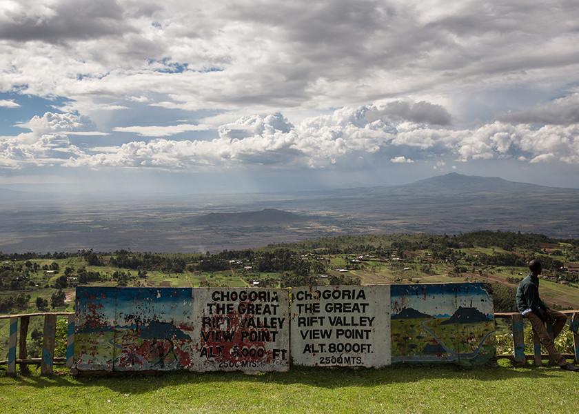 chogoria great rift valley view point kenya
