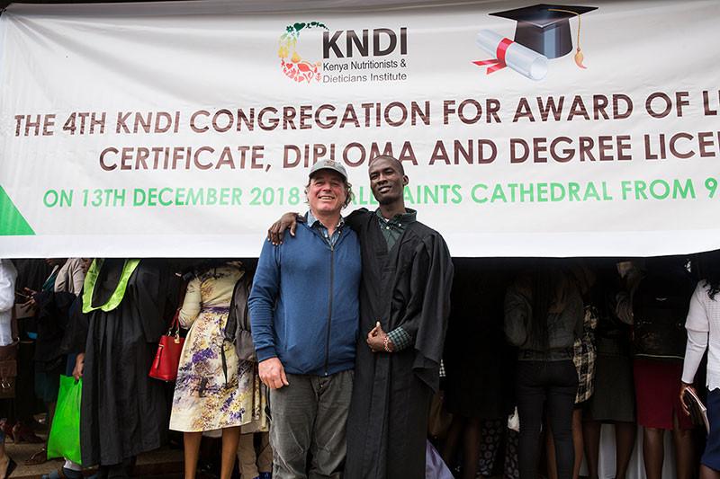 Kenya Nutritionists & Dieticians Institute graduation in Nairobi