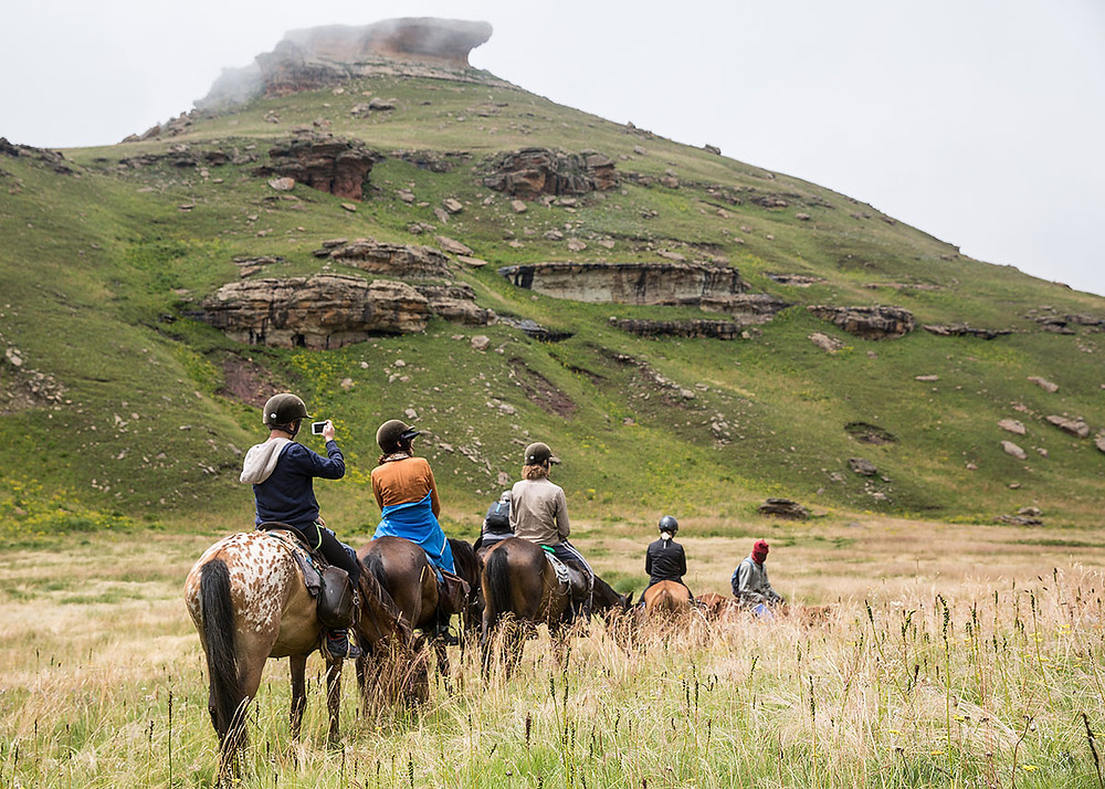 lesotho rock formations