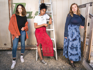 FASHION: 2nd Hand Styles in Woodland Whimsy Meets Industrial Park Pretty
