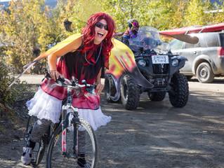 Mardi Gras Craze in Keno City Yukon