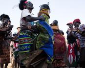 tribal dancing ceremony in Lake Turkana Kenya