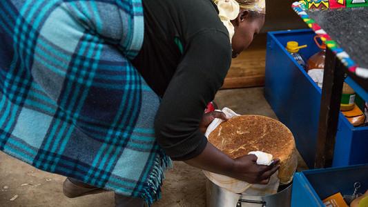 baking bread in lesotho
