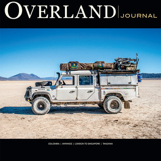 Overland Journal, summer issue 2019, front cover