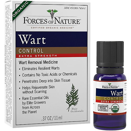 FN-WARTEXTREME Forces of Nature Wart Control Extreme Strength