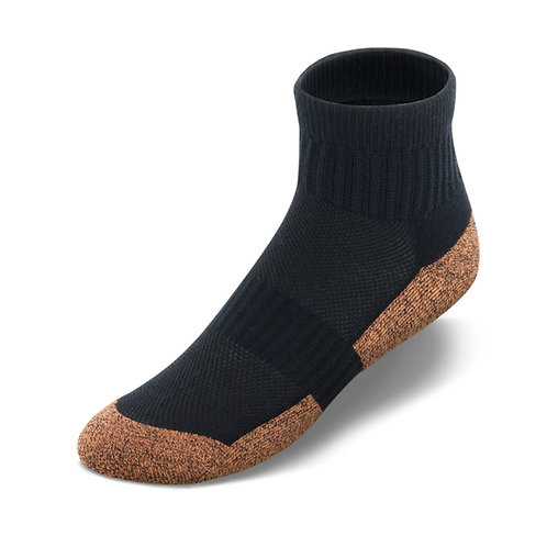 APEXCPRANK Apex Copper Cloud Ankle Length Socks (3 pk.)