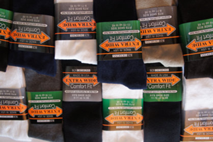 EWS-3800 Men's Extra Wide Dress Socks