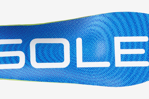 SOLEACTIVMET SOLE Men's Active Thick Insole with Met Pad