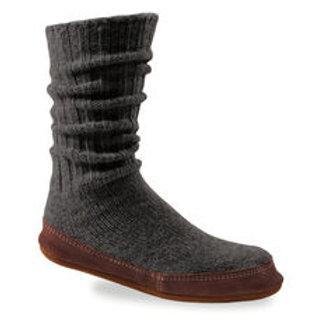 AC-10118 ACK Men's Ragg Wool Slipper Sock