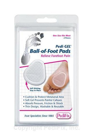 PX-P8201 Pedifix PediGel Ball of Foot Pads