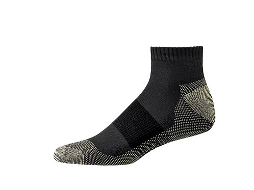 AX-S1001 Aetrex Men's Athletic Copper Ankle Socks