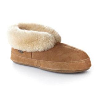 Acorn Men's Sheepskin Bootie Slippers