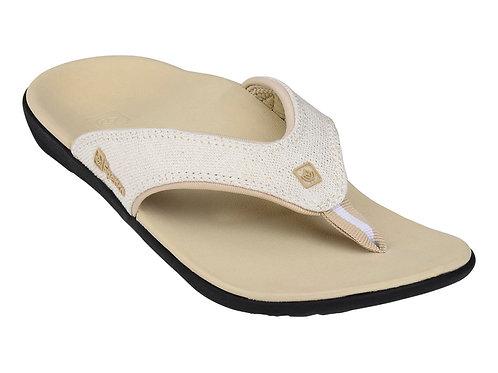 Spenco Gold Canvas Sandals