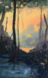 Sunset - SOLD
