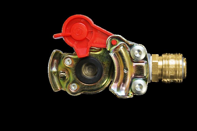 LKW-Druckluftanschluss