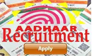 Aadhar recruitment