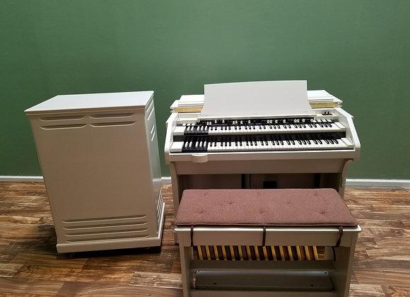 Custom Ivory Hammond C3 Organ