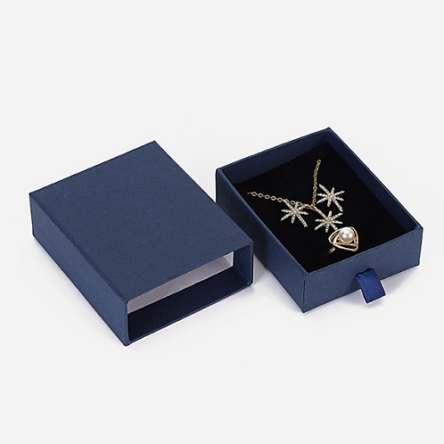 Коробка подарочная для кольца, сережек, подвески с цепочкой