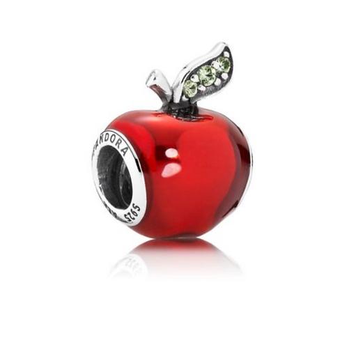 "Шарм ""Яблоко Белоснежки"" Disney PANDORA серебро 925 (оригинал)"