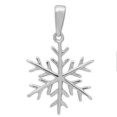 """Подвеска серебро 925 """"Снежинка"""""""