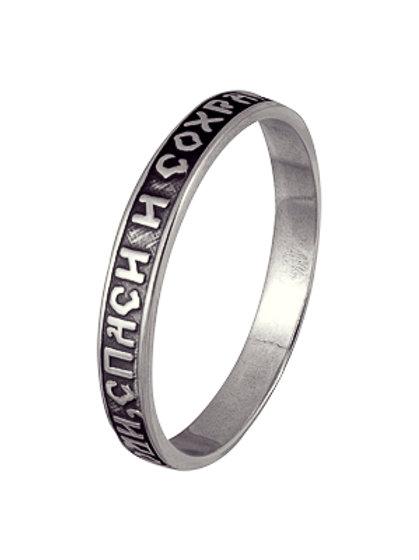 Кольцо серебро 925 ручной работы (р.16, 17, 17.5)