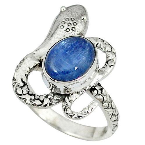 Кольцо серебро 925  с кианитом нат. арт.00666-51