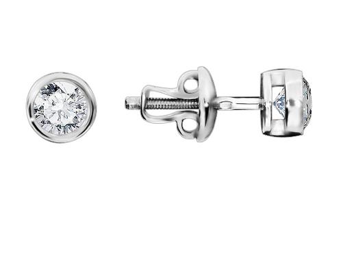 Серьги серебро 925 с фианитом
