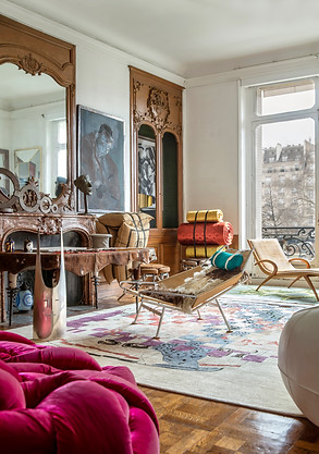 A Collector's Home in Paris