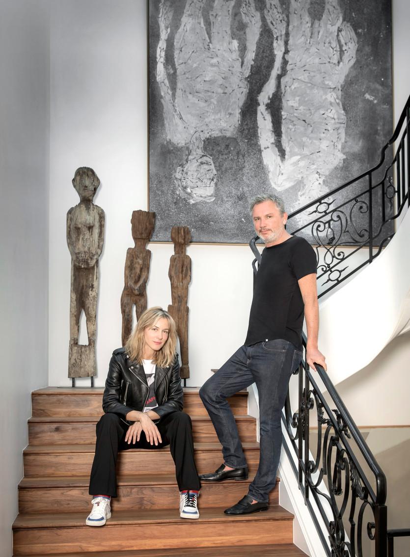 Thierry Gillier and Cecilia Bönström, Paris