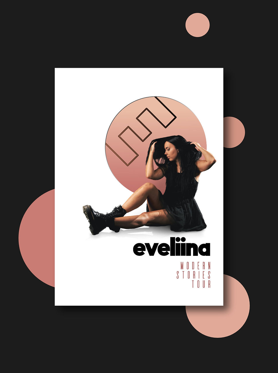 Eveliina - Esimerkkijuliste nettisivuill