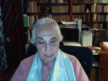 Watch 'Writing Early India: Conversations with Romila Thapar' here!