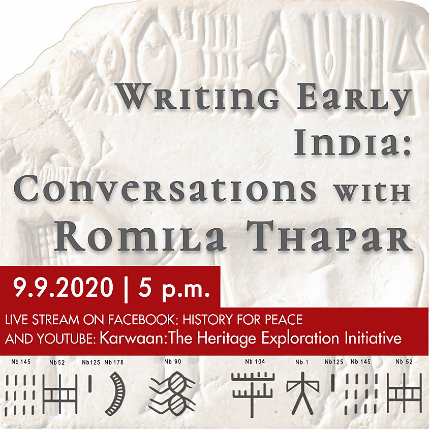 Writing Early India: Conversations with Romila Thapar