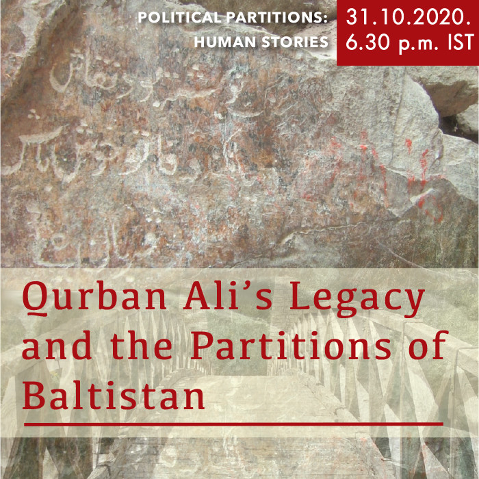 Qurban Ali's Legacy and the Partitions of Baltistan
