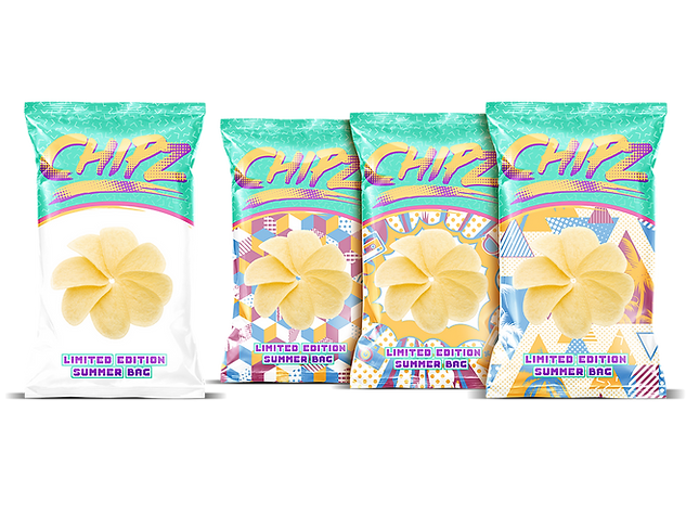 Sunlight activated packaging idea for summer