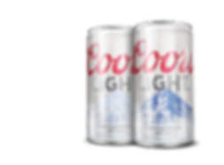 Coors Light Cold Activated Can Using Thermochromic Ink