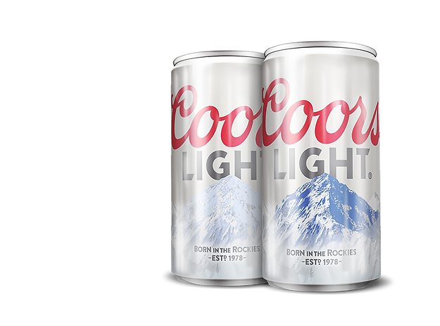 Coors Light Cold Activated Can