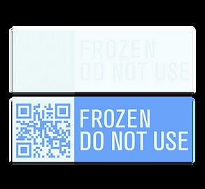 Freeze Indicator Labels